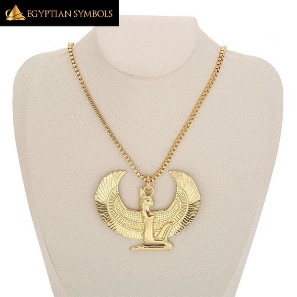 Long Chain Eagle Necklace