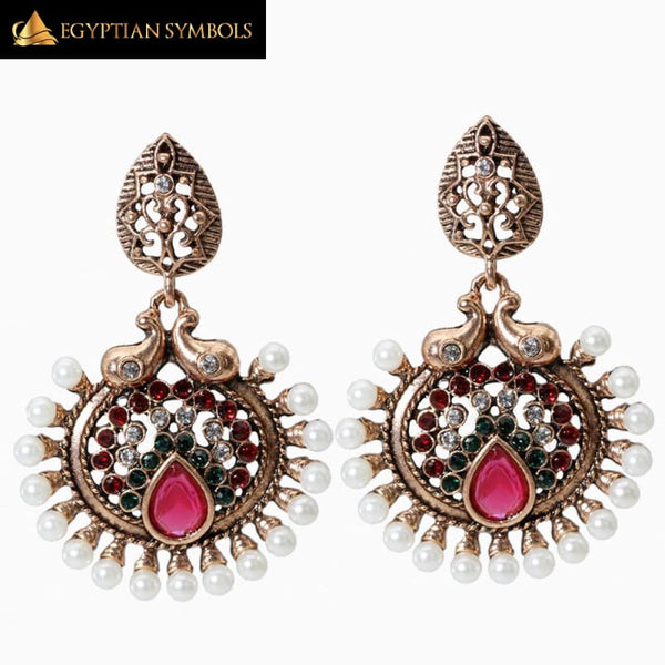 Retro gold Earring for women