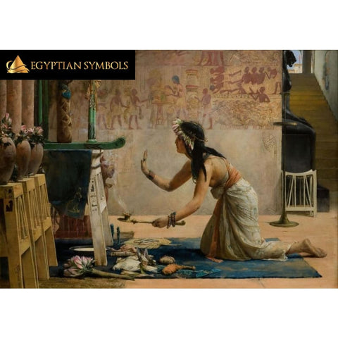 Egyptian Painting in Wall Sticker