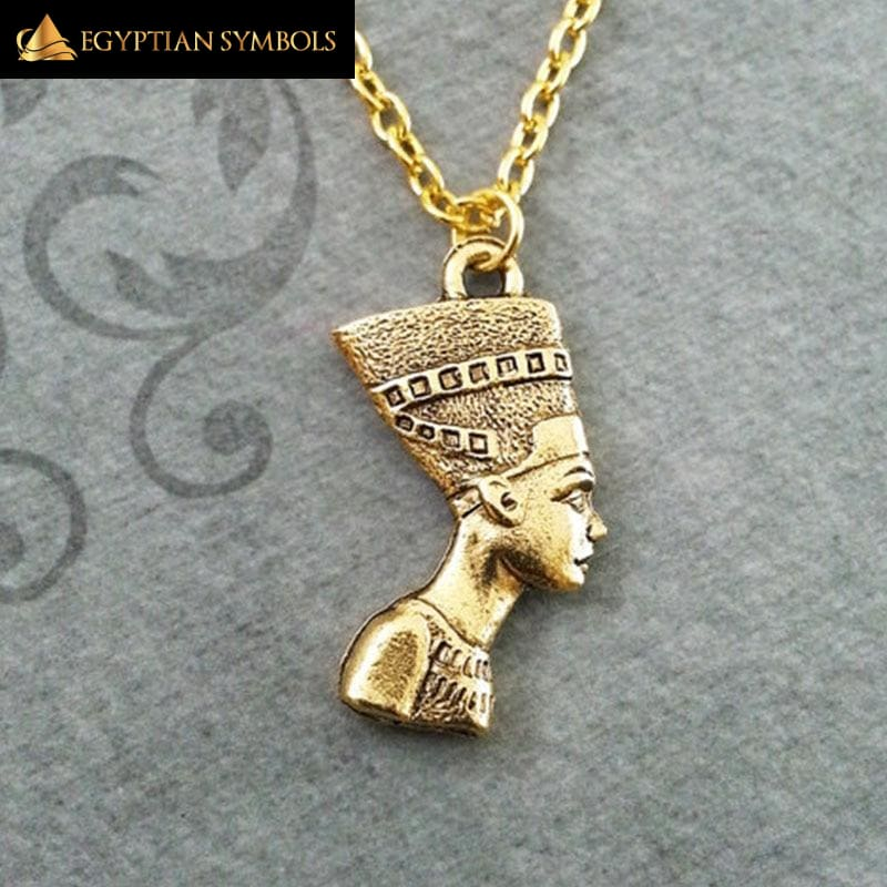 Charm Nefertiti Necklace