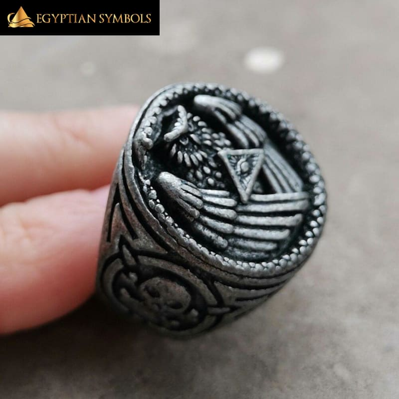 EGYPTIAN RING - All Seeing Eye