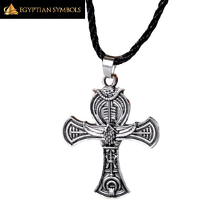 Egyptian Cross Necklace Vintage
