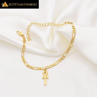 EGYPTIAN BRACELET - Ankh Cross-HIGH QUALITY