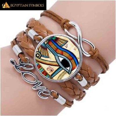 Ancient Egypt Eye of Horus Bracelet