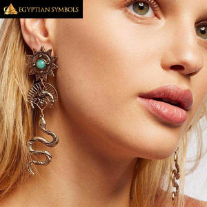 Exotic Ethnic Egyptian Earrings