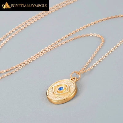 Eye Charming Round Necklace