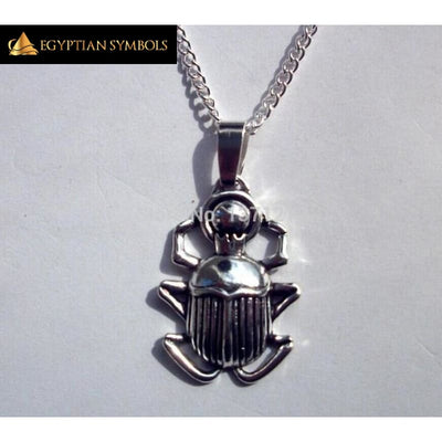 Egyptian Beetle / scarab Charms Necklace