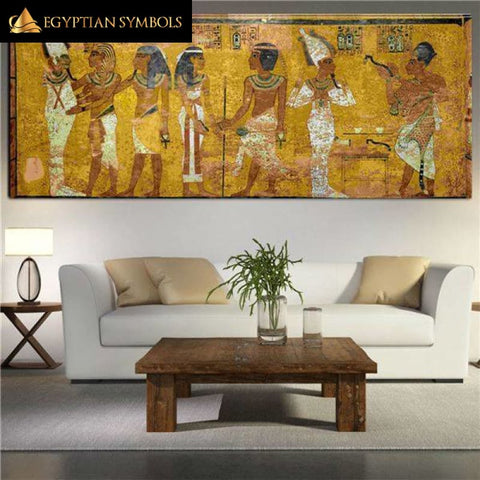 Egyptian Painting - Temple