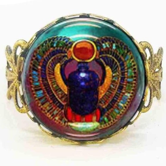 EGYPTIAN RING - VINTAGE Scarab