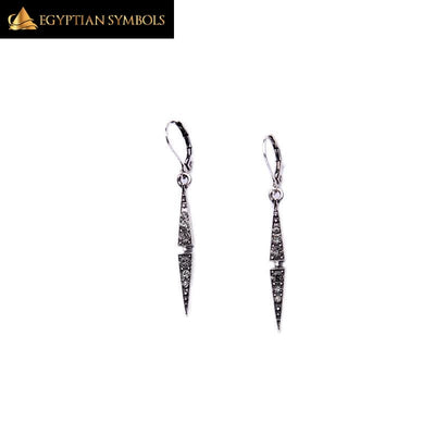 Egyptian Earring in Tribal style