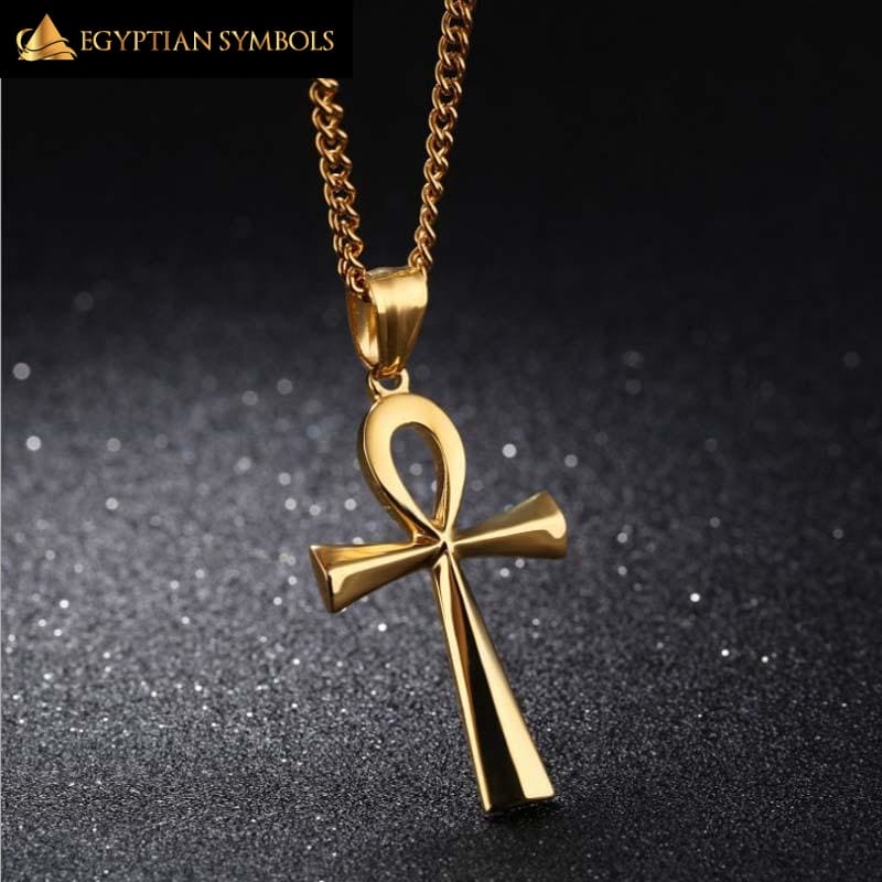 Ankh Crucifix Necklace