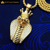 EGYPTIAN NECKLACE - Crown Cobra