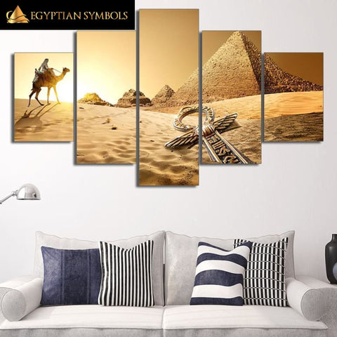 Egyptian Painting with or without Framed