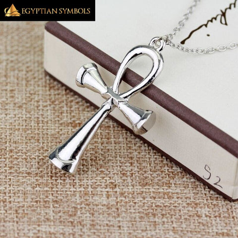 Mystic Egyptian Ankh Cross Necklace