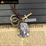Egyptian Symbols Necklace Unisex