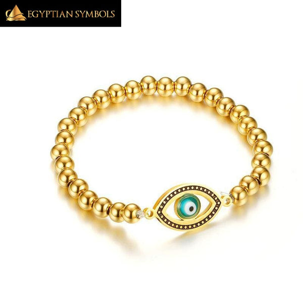 Egyptian Bracelet - Horus Eye Charm Simple and remarkable