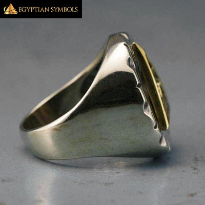 EGYPTIAN RING - \Freemason/Illuminati
