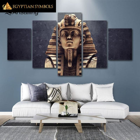Painting Egyptian Symbolic Object