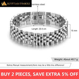 Egyptian Bracelet - Luxury Gold Lavish and royal