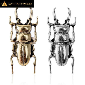 EGYPTIAN RING - Scarab Beetle Insect