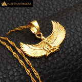 Egyptian Goddess Necklace (Gold)