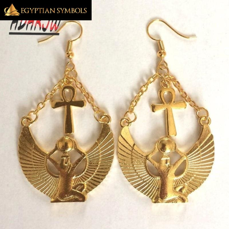 Egyptian Earrings - Goddess Isis