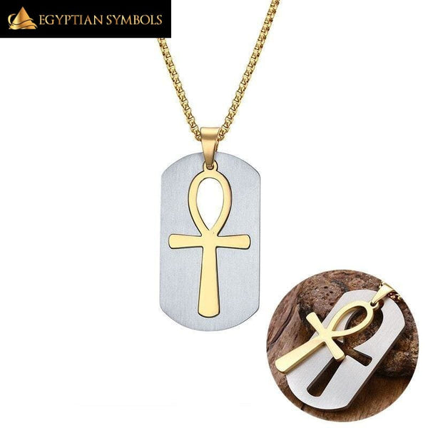 Removable Ankh Necklace
