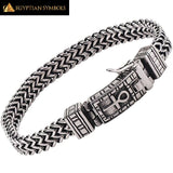 EGYPTIAN BRACELET - Horus Eye Cross Charm VERY FASHIONABLE