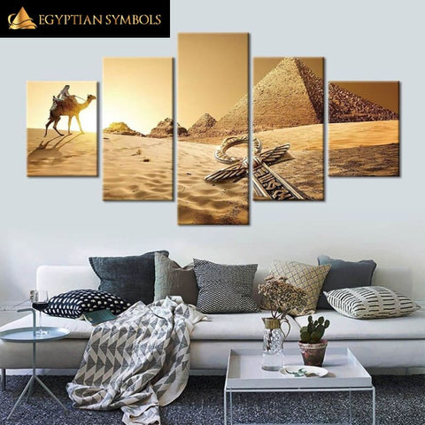 Painting desert of Egypt