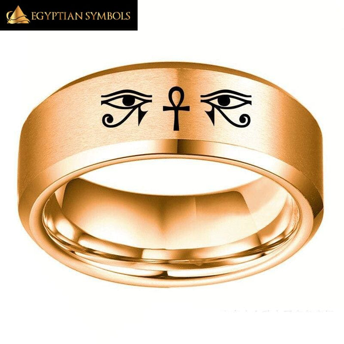 EGYPTIAN RING - Eye of Horus Ra Udjat