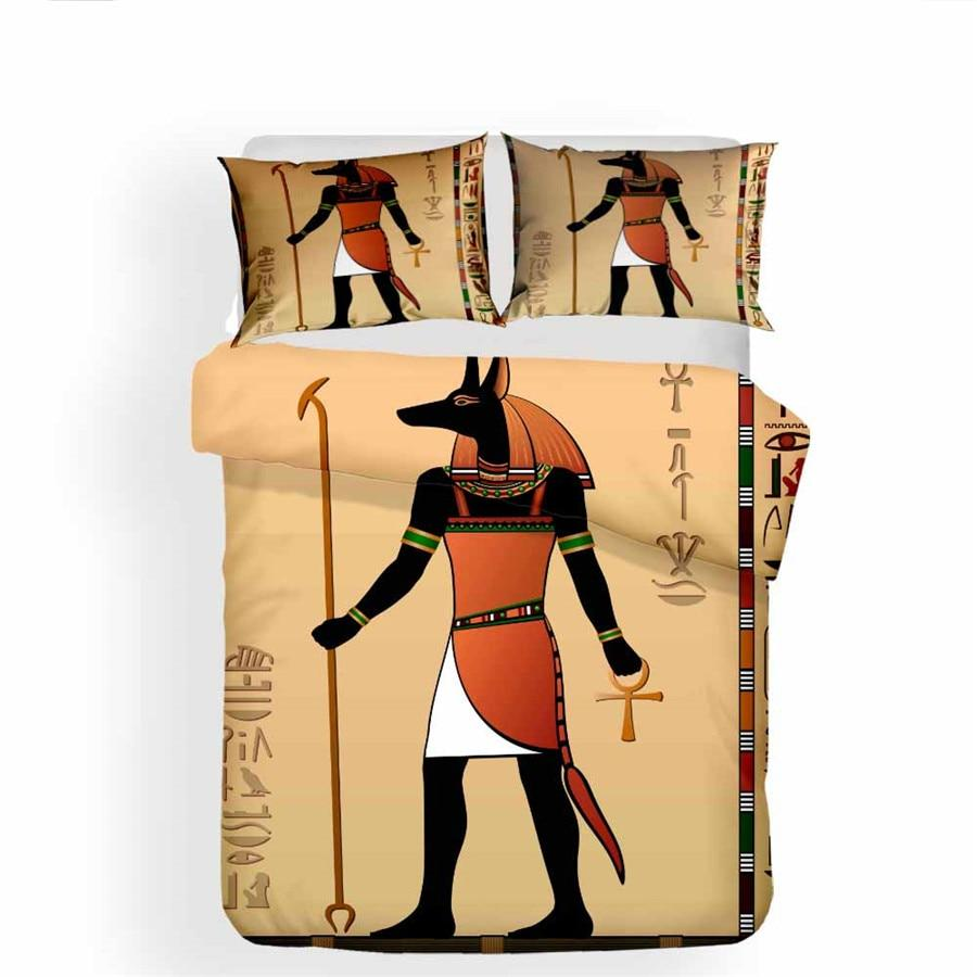 EGYPTIAN BED SET - ANUBIS