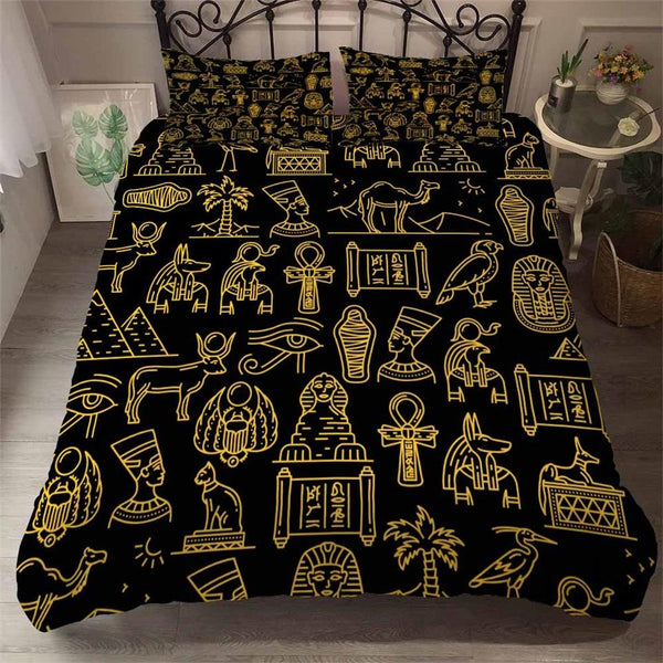 EGYPTIAN BED SET - CULTURE