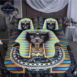 EGYPTIAN BED SET - PHARAOH LION
