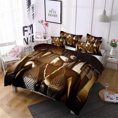 EGYPTIAN BED SET - QUEEN-PHARAOH