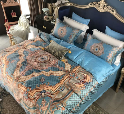EGYPTIAN BED SET - ROYAL