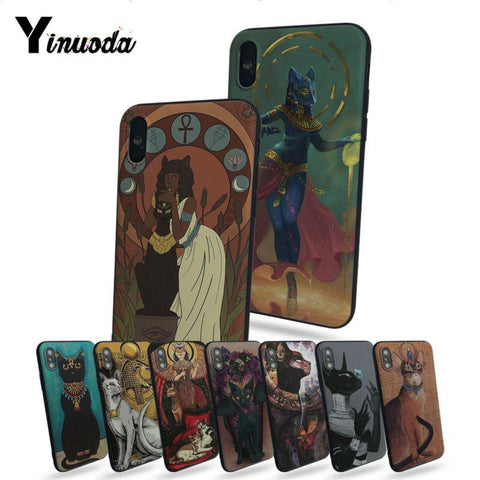 EGYPTIAN CAT iPHONE CASE