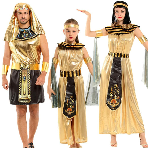EGYPTIAN COSTUME - COSTUME FOR  PARENT AND DAUGHTER