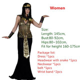 EGYPTIAN COSTUME - GOLDEN COSTUME FOR THE WHOLE FAMILY