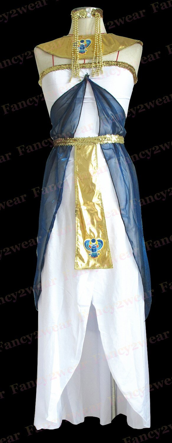 EGYPTIAN COSTUME - COSTUME IN ACRYLIC AND SPANDEX FOR WOMEN