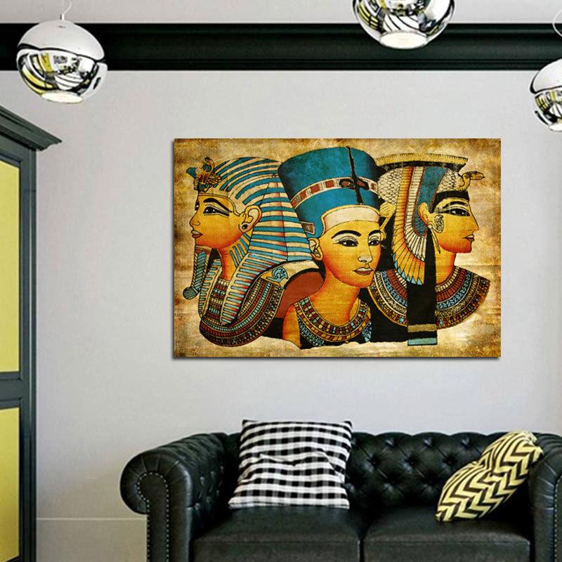 Egyptian Fiber Painting
