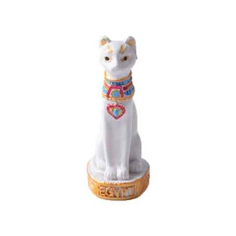EGYPTIAN FIGURINE CAT - RESIN FIGURINE