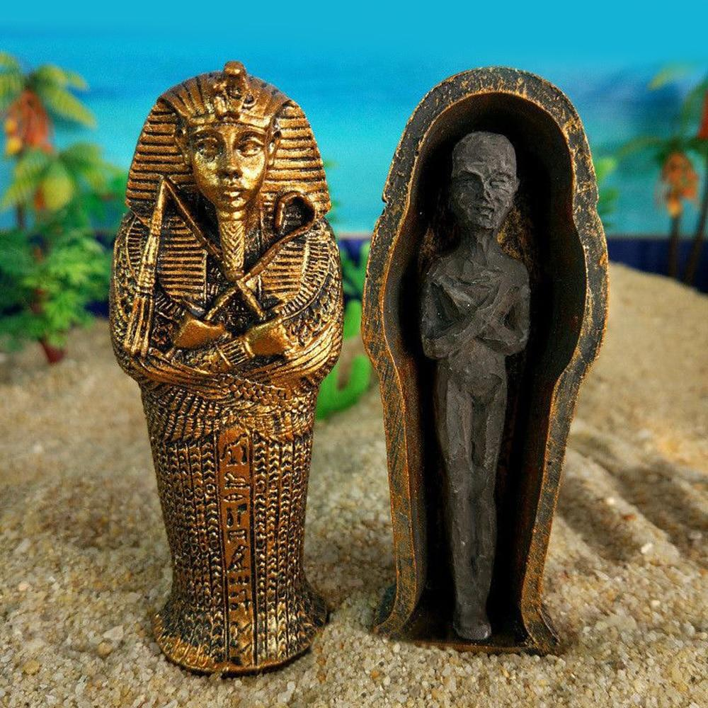 EGYPTIAN FIGURINE - MUMMY RESIN