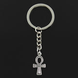 EGYPTIAN KEYCHAIN - CROSS ANKH SYMBOL SIMPLE BUT RESISTANT