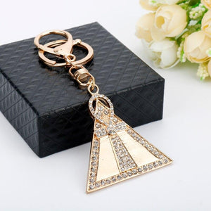 EGYPTIAN KEYCHAIN - MYSTIC PYRAMID BRILLIANT AND BEAUTIFUL