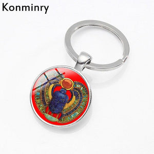 EGYPTIAN KEYCHAIN - SCARAB CHARMING OBJECT