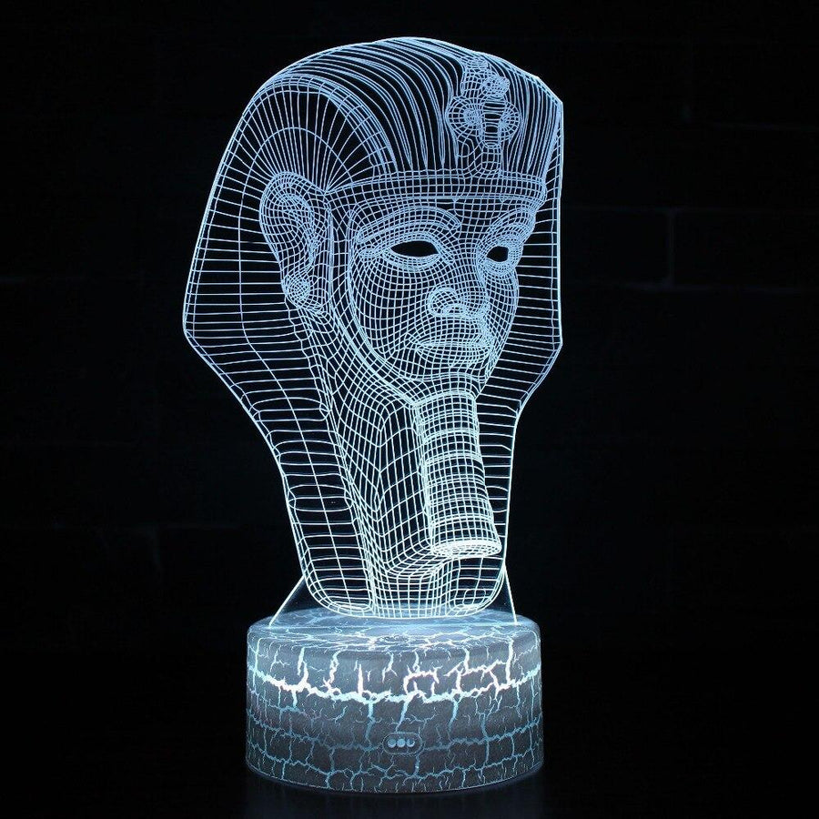 EGYPTIAN LAMP - KING TUT