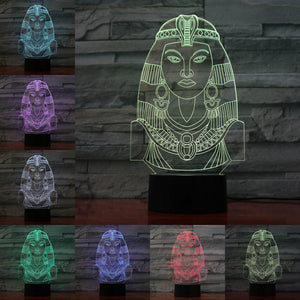 EGYPTIAN LAMP - PHARAOH LED PRINCESS