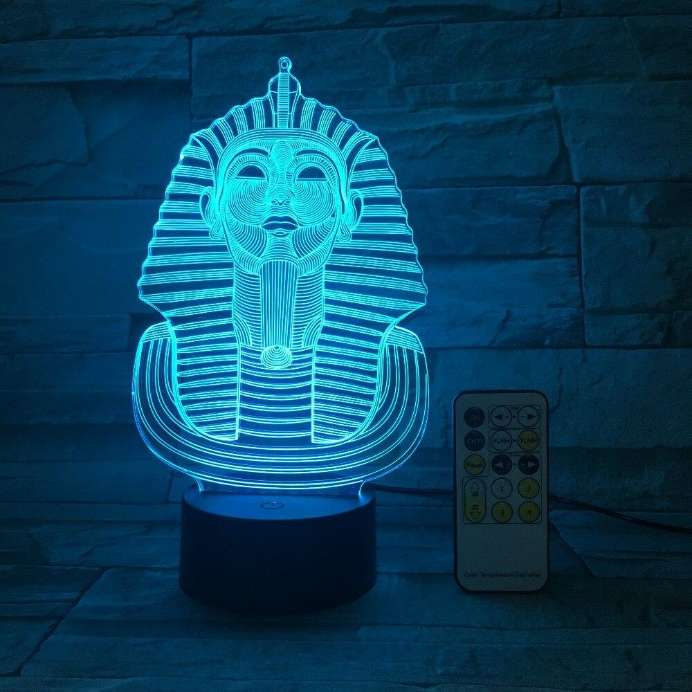 EGYPTIAN LAMP - PHARAOH SPHINX