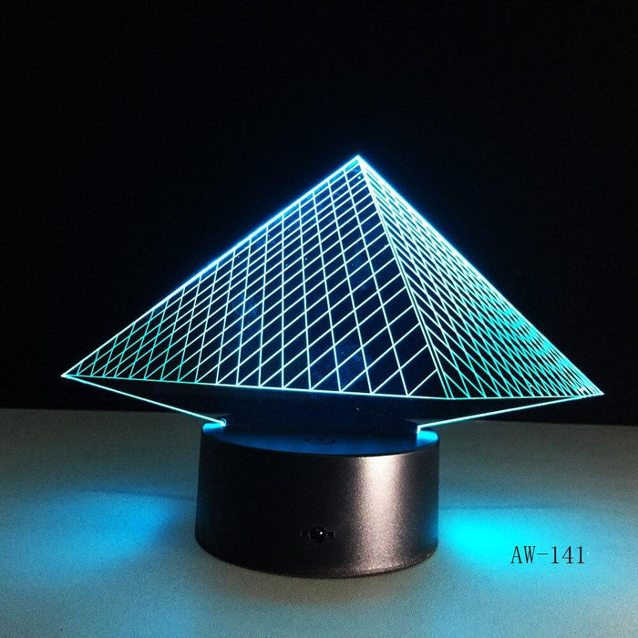 EGYPTIAN LAMP - PYRAMID