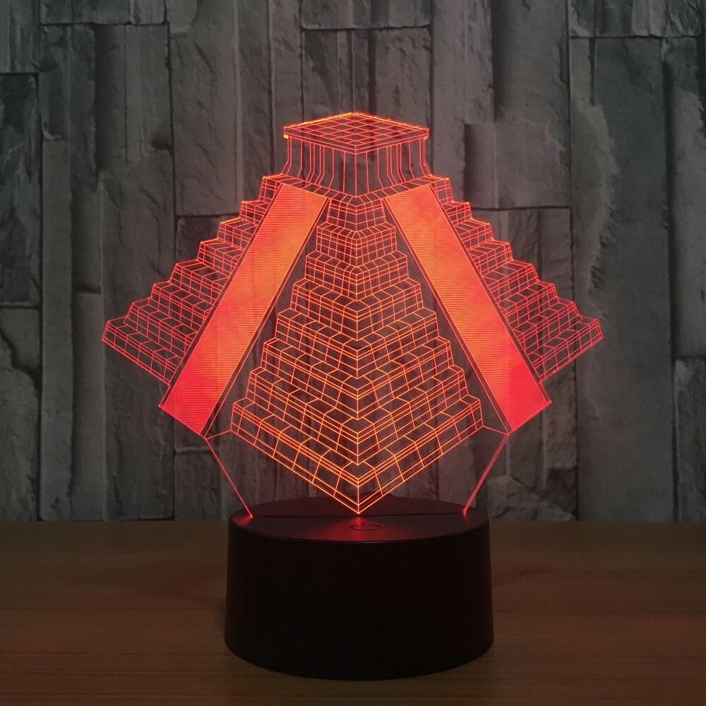 EGYPTIAN LAMP - PYRAMIDS